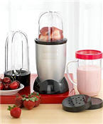 Magic Bullet strawberry juice and smoothies